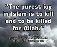 For Allah!