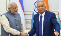 Narendra Modi & Islam Karimov
