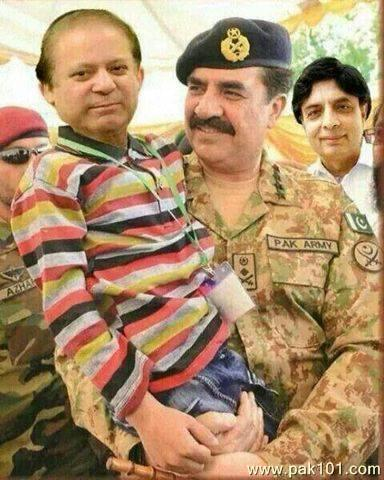 Nawaz Sharif & Pak Army Chief