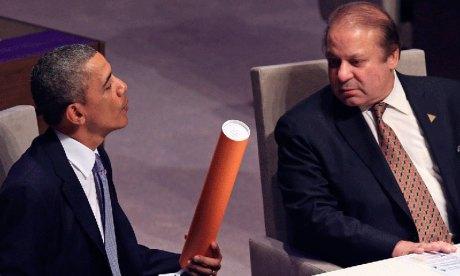 Barack Obama & Nawaz Sharif
