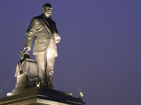 B.R. Ambedkar statue at Ambedkar Park
