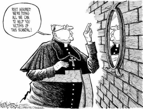 Catholic bishop as victim!