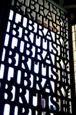 British Library Entrance Gate