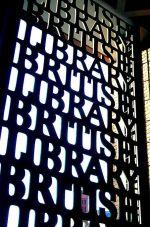 British Library Entrance Gate