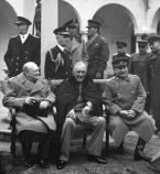 Churchill, Roosevelt & Stalin at Yalta