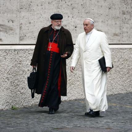 Pope Francis & Cardinal Sean O'Malley