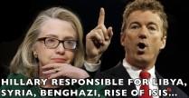 Hillary Clinton & Rand Paul