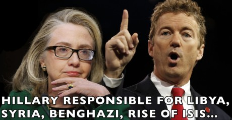 Hillary Clinton & Rand Paul
