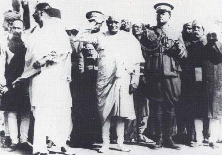 Moti Lal Nehru & Subhas Chandra Bose