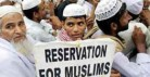 Reservation for Muslims