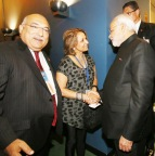 Narendra Modi with Ravi & Ranju Batra