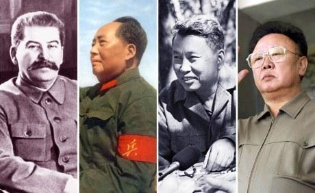 Josef Stalin, Mao Zedong, Pol Pot & Kim Jong-il