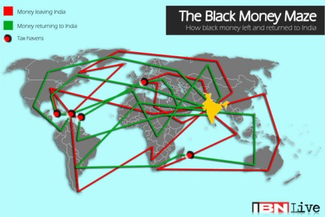 Black Money Map