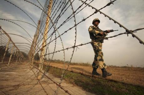 Indo-Pak border in Jammu & Kashmir