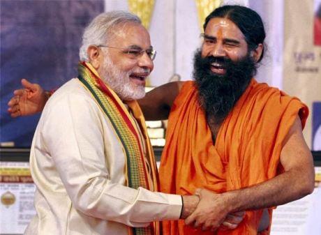 Narendra Modi & Baba Ramdev