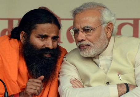 Baba Ramdev & Narendra Modi
