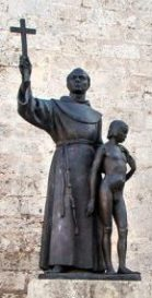 Junipero Serra & Native American Boy