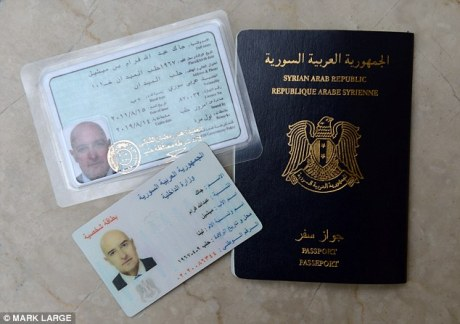 Syrian identity papers