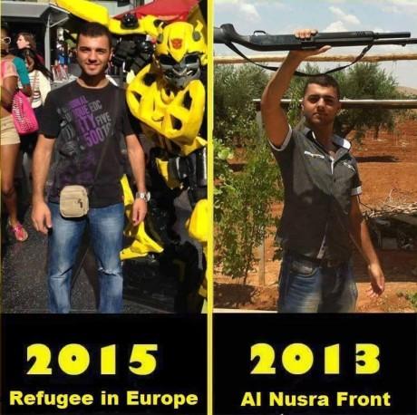 Terrorist to Refugee