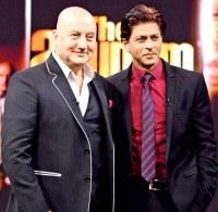 Anupam Kher & Shah Rukh Khan