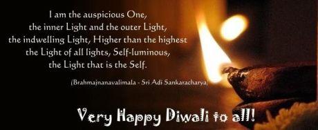 Diwali : Brahmajnanavalimala by Adi Shankara