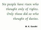 M.K. Gandhi Quote