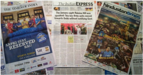 "The Indian Express's ""military coup"" story!"
