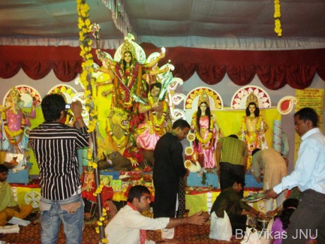 Durga Puja at JNU