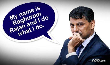 Raghuram Rajan Quote