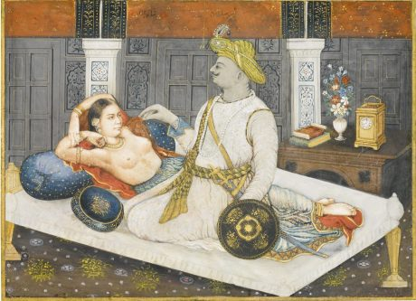 Tipu with his mistress