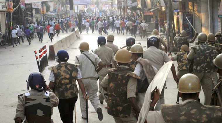 Police lathi charge in bangalore dating