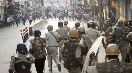 Varanasi Protest 2015