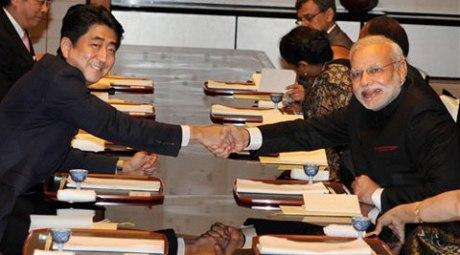 Narendra Modi & Shinzo Abe