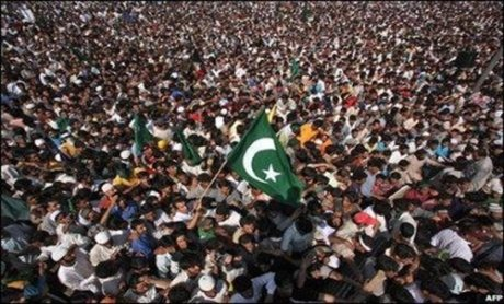 Pakistan's population is growing!