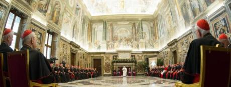 Pope Francis and Curia