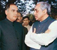 Subramanian Swamy & Rajiv Gandhi