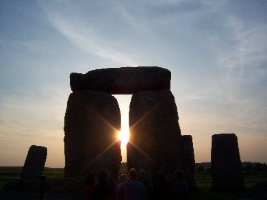 Sunrise at Stonehenge on the Winter Solstice