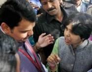 Devendra Fadnavis & Trupti Desai