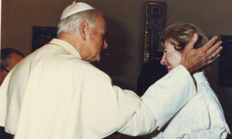 Anna-Teresa Tymieniecka & John Paul II