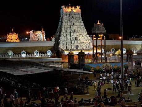 Venkateshwara Temple Tirumala