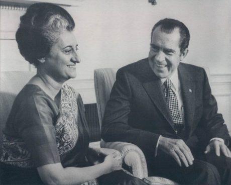 Indira Gandhi & Richard Nixon (1971)