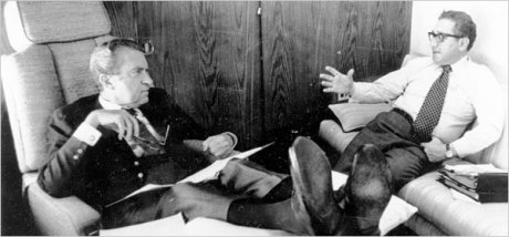 Richard Nixon & Henry Kissinger