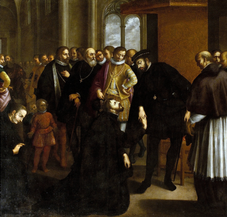 St Francis Xavier requesting Portuguese King John III to send the Inquisition to Goa (1635)