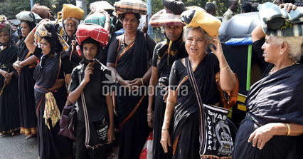 Women yatris to Sabarimala