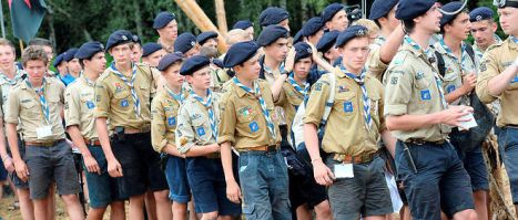 French Boy Scouts