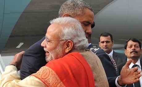Narendra Modi & Barack Obama