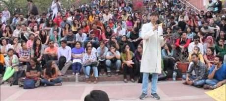 Makarand R. Paranjape at JNU