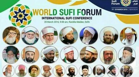 World Sufi Forum, New Delhi, March 2016