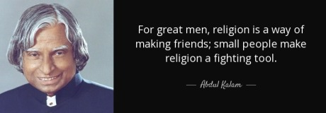 A.P.J. Abdul Kalam Quote