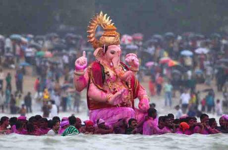 Ganapati in Mumbai